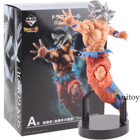 2MB Action Figure Dragon Ball SUPER Ichiban Kuji A Son Goku Ultra Instinct Figure PVC Son Gokou Figures Collectible Model Toy - MH