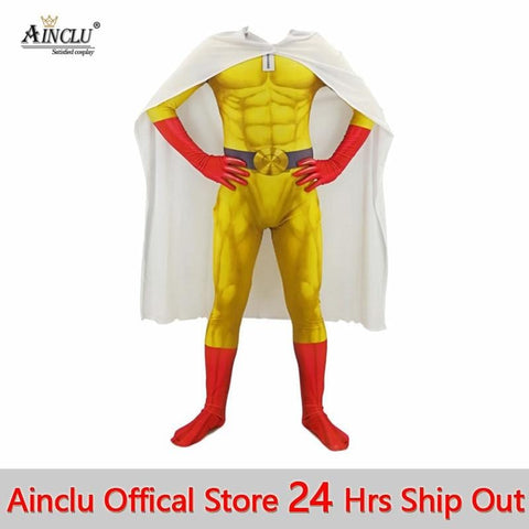 3MB One Punch Man Super Hero Cosplay - MH