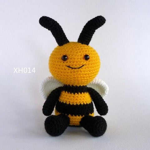 Amigurumi Bee , Crochet Toy Bee doll, , Bumble Bee, Crochet baby  Toy, Soft Toy, Stuffed Toy, - MH