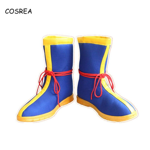 2MB Anime Dragon Ball Shoes Snow Boots Z son Goku Winter Rubber Women Men Cosplay Costumes - MH