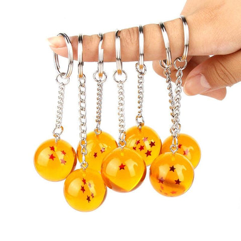Dragon Goku Ball Super  Crystal Ball Keychain - MH