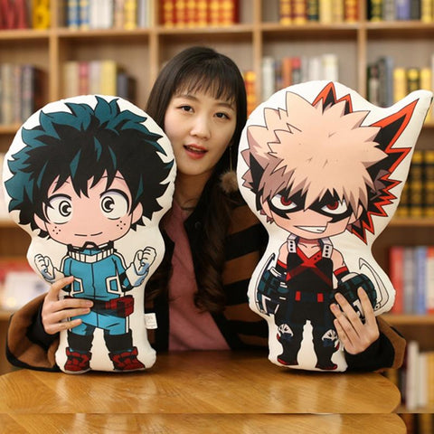 3MB  Boku no Hero Academia Stuffed Plush Toy Doll Soft Pillow Cushion - MH
