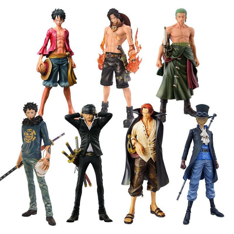 4MB Anime One Piece Ace Shanks Monkey D Luffy Figure - MH