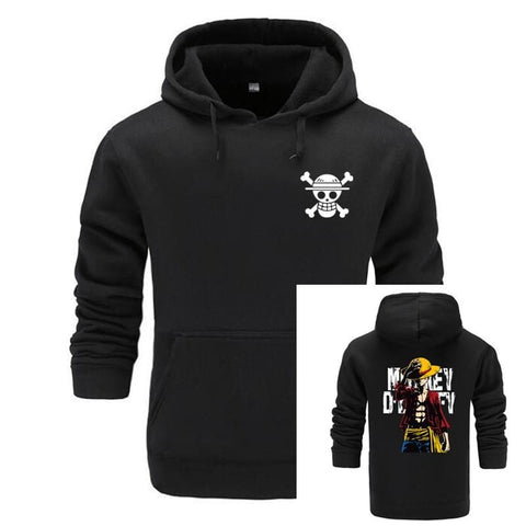 4MB Anime One Piece Japanese Hoodie - MH