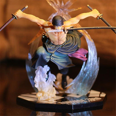 4MB Anime One Piece Ronoa Zoro Ghost PVC Action  Collection Figure - MH