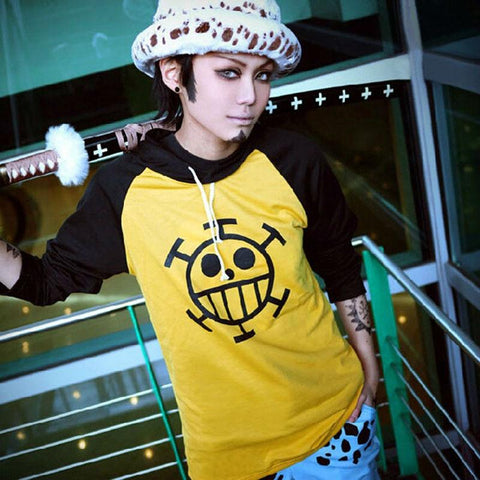 4MB Anime One Piece Trafalgar Law Hoodie - MH
