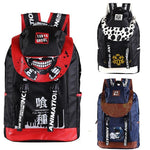 4MB Anime Tokyo Ghoul/ One Piece/ Time Raiders/ Attack On Titan Canvas Backpack - MH