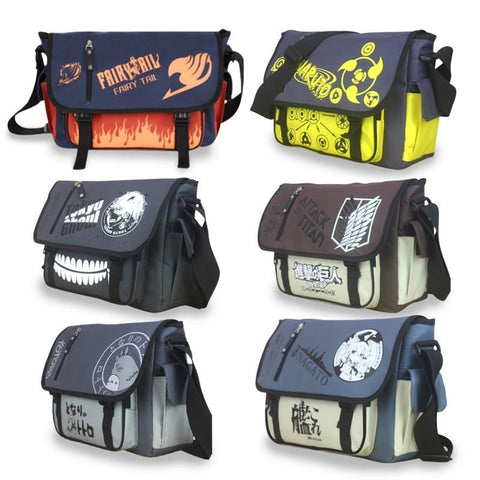 5MB Anime Cool Backpacks