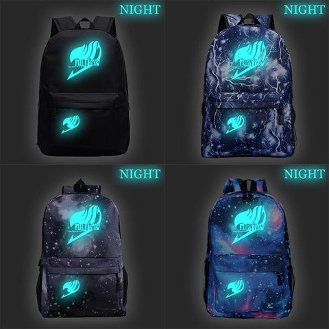 5MB Fairy Tail School Luminous Backpack - MH