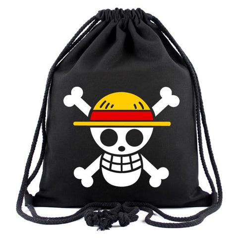 4MB Cute Cartoon Canvas One Piece Bag - MH