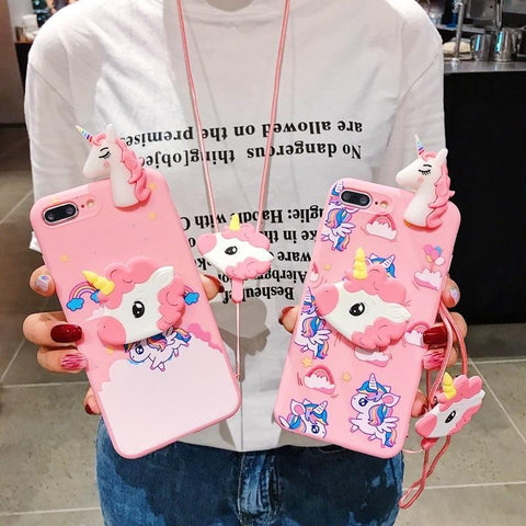 Sailor Moon Unicorn Pink Phone Case - MH