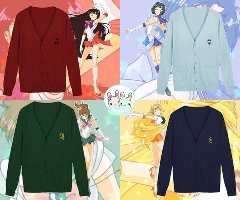 Womens Sailor Moon Uniform Sweater - MH