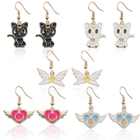 Cute Sailor Moon Earrings - MH