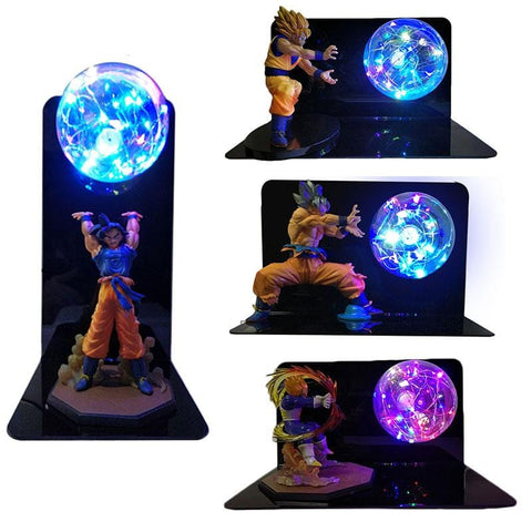 2MB  Dragon Ball Super Goku Vegeta Gogeta Figuras LED Light Dragon Ball Lamp Ultra Instinct Goku Bedroom Decorative Night Light Gifts - MH