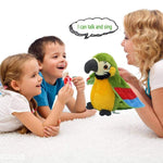 Electric Talking Parrot Plush Toy - MH