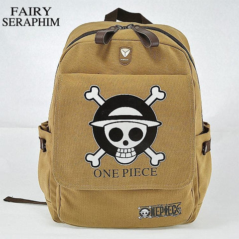 4MB One Piece Anime Children's School Bag - MH