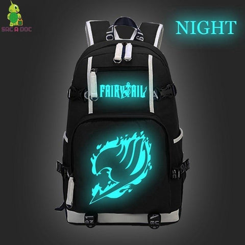 5MB Fairy Tail Natsu Luminous Backpack - MH