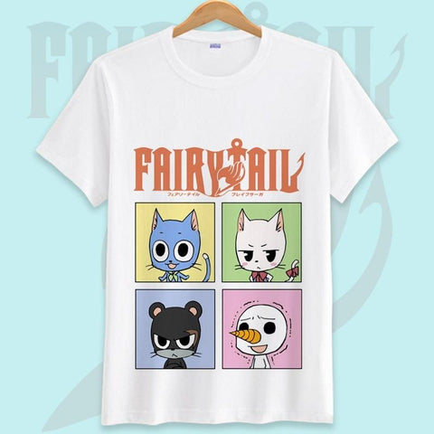 5MB Fairy Tail Printed Men T Shirt - MH