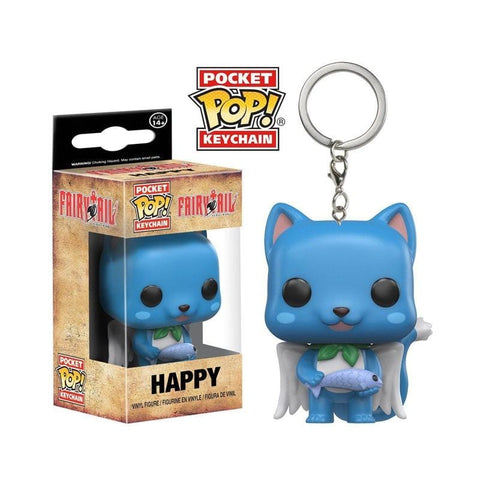 Fairy Tail Funko Pop Keychain - MH