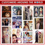3M  Anime Dakimakura Japanese Waifu Pillow - MH