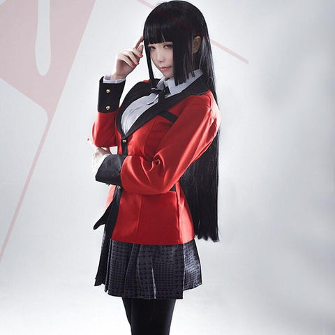 1MB Hot Japanese School Girls Uniform Full Set Jacket+Shirt+Skirt+Stockings+Tie - MH