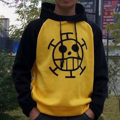4MB One Piece Trafalgar Law Cosplay Sweater - MH