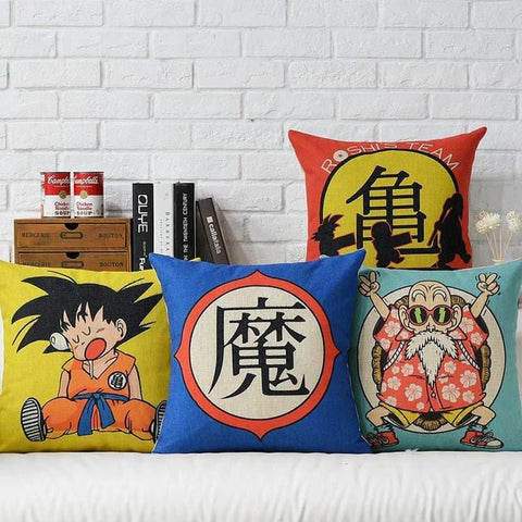 3MB Japanese Anime Dragon Ball Printed Cushion Cover - MH