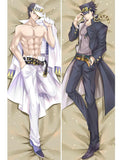 3MB Japanese Anime JoJos Bizarre Adventure Hug Body Pillow Case Costume Cover Dakimakura Cushion Fujoshi BL Male Hugging Body - MH