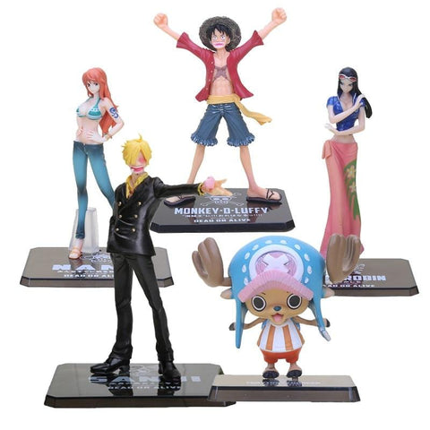 4MB Japanese Anime One Piece PVC Action Figure - MH