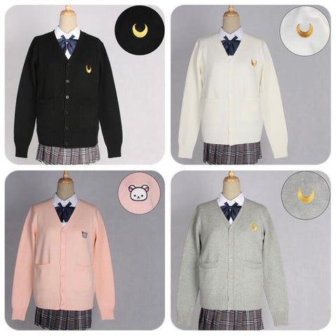 Girl Sailor Moon Student Sweater - MH