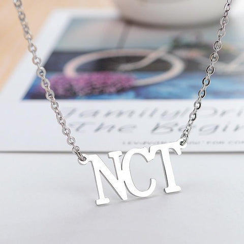 2MB NCT Stainless Steel Pendant Necklace - MH