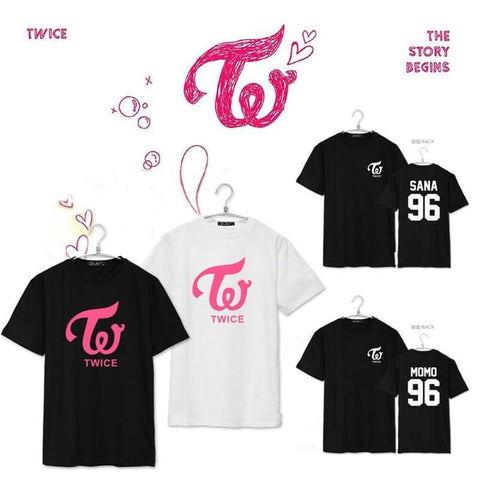 2MB KPOP TWICE CHEER UP Album Shirts - MH