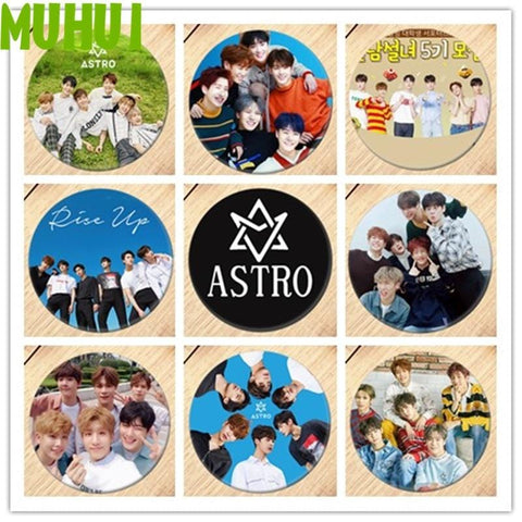 2MB Kpop ASTRO Breastpin Badge - MH