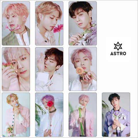 2MB Kpop Astro Members Photo Stikcy Card 10pcs/set - MH