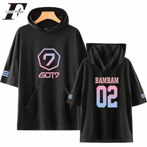 2MB GOT7  Short Sleeve Hoodies & Sweatshirts - MH