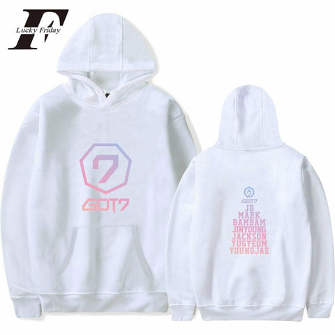 2MB GOT7 K-Pop Korean Hoodies - MH