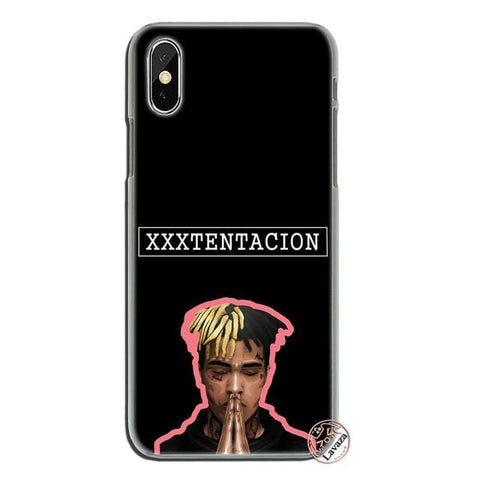 8MB XXXTentacion MC Hard Phone Case for iPhone XR XS X 11 Pro Max 10 7 8 6 6S 5 5S SE 4S 4 Cover - MH
