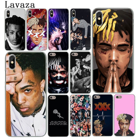 8MB XXXTentacion MC Hard Phone Case for iPhone XR XS X 11 Pro Max 10 7 8 6 6S 5 5S SE 4S 4 Cover