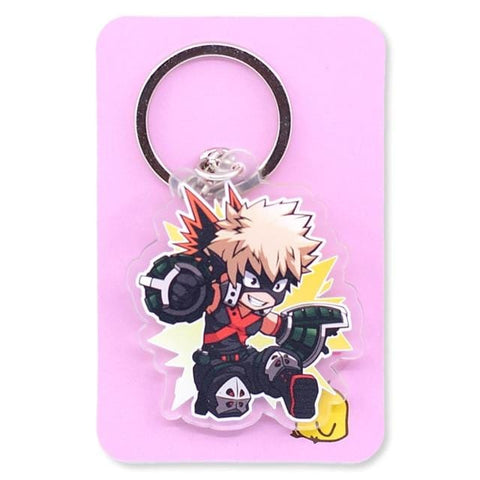 My Hero Academia Double Sided Clear Keychain - MH