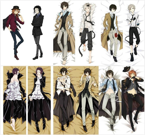 3MB Bungo Stray Dogs Anime Japanese Hugging Body Pillow Cove - MH