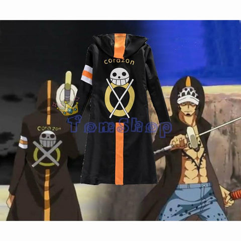 One Piece Trafalgar Law Hoodie Cloak - MH