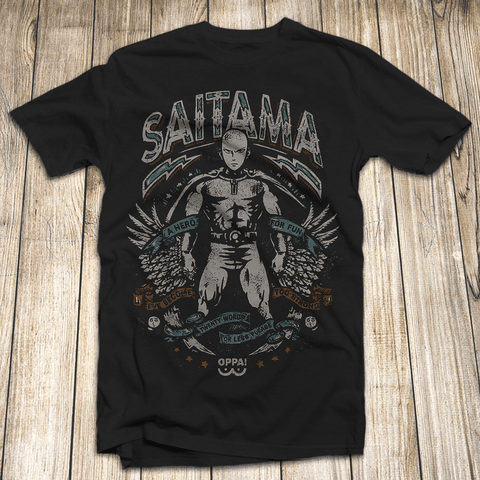 3MB One Punch Man Anime Saitama Workout T-Shirt - MH