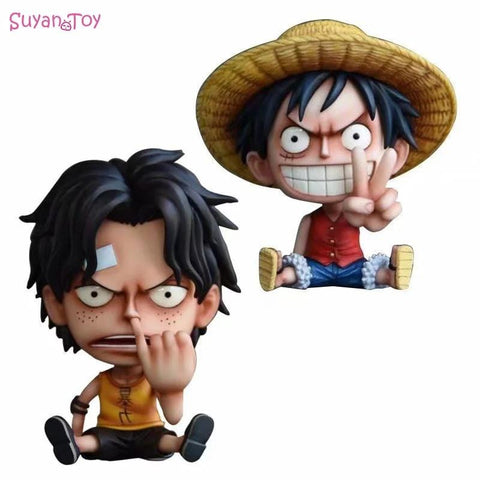 4MB One Piece Monkey D Luffy Anime Action Figure - MH