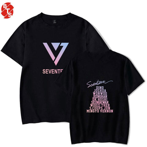 2MB SEVENTEEN Summer Casual T-shirt - MH