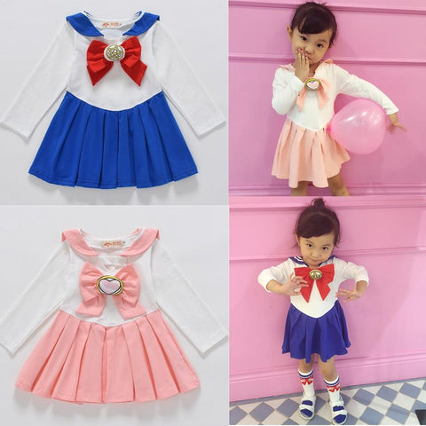 Sailor Moon Girls Cosplay Dress - MH