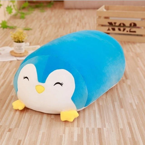 Soft Animal Cartoon Pillow Cushion Cute Fat Dog Cat Totoro Penguin Pig Frog Plush Toy Stuffed Lovely kids Birthyday Gift - MH