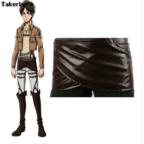 1MB Takerlama Cosplay Attack on Titan Shingeki no Kyojin Leather Skirt - MH