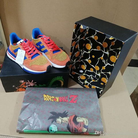 2MB Wholesales New Updated Dragon Ball Z x ZX 500 Goku Run Shoe Classic Designer Fashion Limited Edition TOP Quality Sport Shoes - MH
