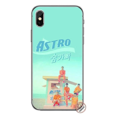 2MB KPOP ASTRO Soft Silicone Cover Case for Apple iPhone 11 Pro X XR XS Max 6 6S 7 8 Plus 5 5S SE 10 TPU Phone Cases - MH