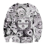 Ahegao Sweatshirt | Hentai Sweater